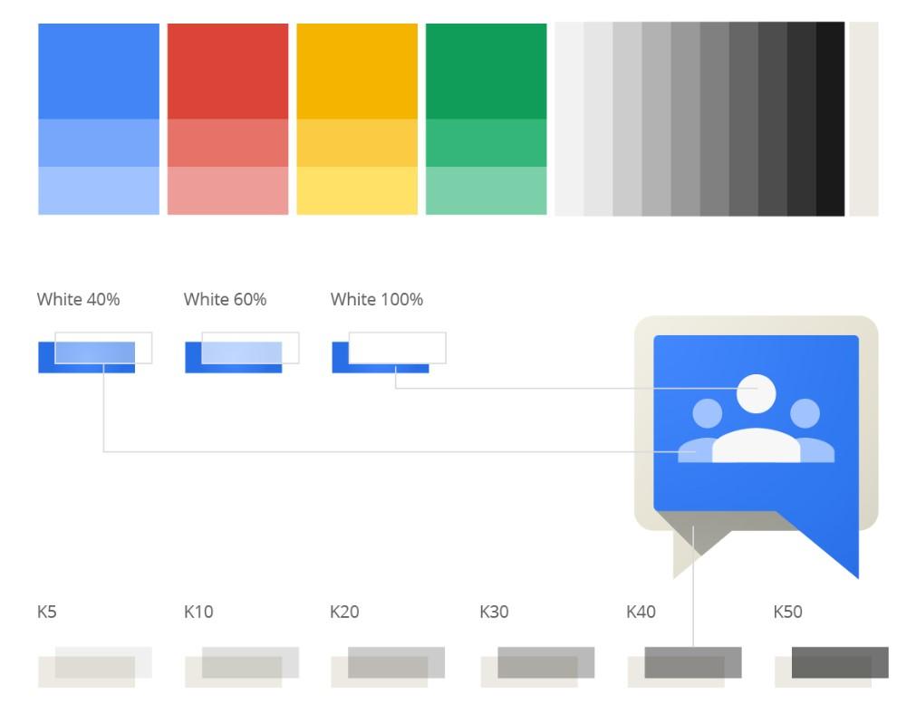 Google Color Palettes